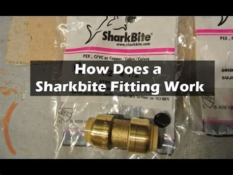 How To Remove Push On Plumbing Fittings by How To Fix A Water Leak With A Quot Sharkbite Quot Push On Fitting