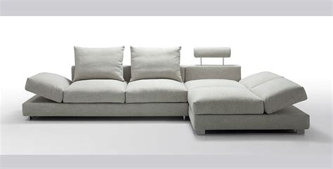 Irma Modern Light Fabric Sectional Sofa Fabric Sectional
