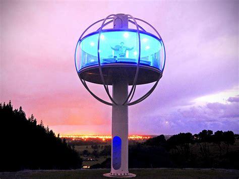 jono williams skysphere is how grown ups treehouse should look like