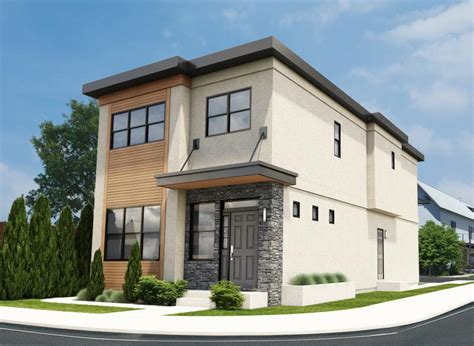 modern narrow lot house plans narrow lot contemporary duplex house plan hunters