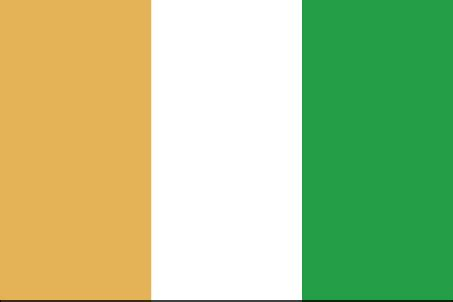 flags of the world orange white green orange white green flag