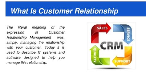 You Need A Crm A Customer Relationship Management App | customer relationship management crm