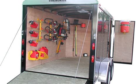 enclosed trailer cabinets accessories motorcycle enclosed trailer accessories review about motors