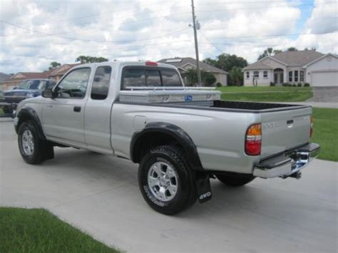 2003 Toyota Tacoma Sr5 Sell New 2003 Toyota Tacoma Extended Cab Sr5 4x4 In