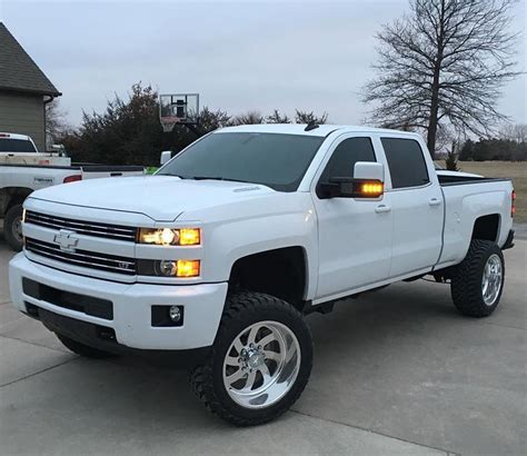 american check out this white out duramax from