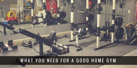 essential home equipment reddit workout