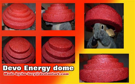 How To Make A Devo Hat Out Of Paper - devo energy dome by lw on deviantart