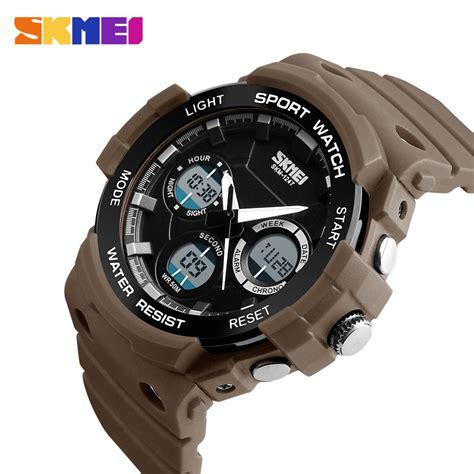 Skmei Jam Tangan Analog Digital Pria Ad1090 skmei jam tangan digital analog pria ad1247 coffee jakartanotebook