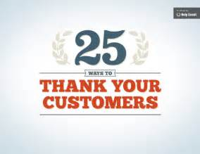 Thanksgiving Appreciation Letter Clients an ebook by 25ways to thank your customers1