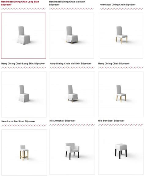 Slip Cover Chairs Ikea Dining Chair Slipcovers Now Available At Comfort Works