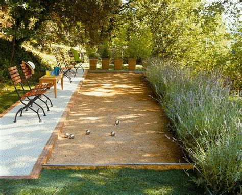 backyard bocce backyard bocce court casa
