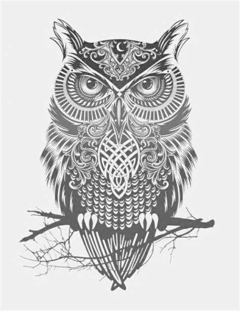 black owl tattoo design 30 best owl tattoo designs