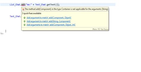 javax swing text java chat client using add methood stack overflow