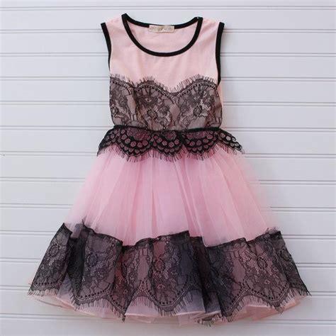 Flower Lace Dress Black Pink Ml clearance pink lace dress black lace dress pink black flower wedding dress wedding