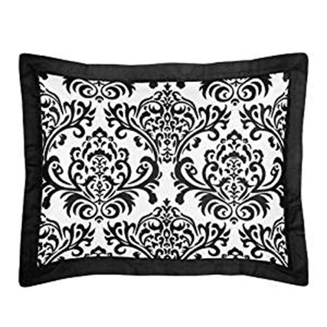 Black Pillow Shams by Black And White Pillow Sham By Sweet