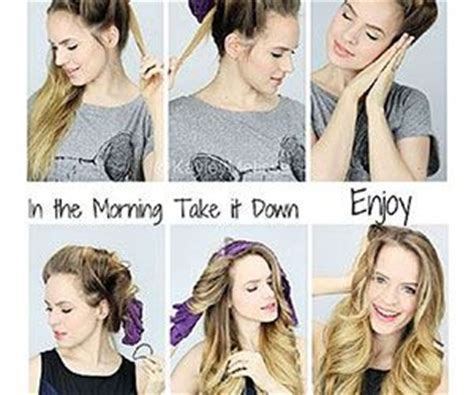 easy overnight hairstyles for school 18 overnight hair tutorials that will let you wake up with