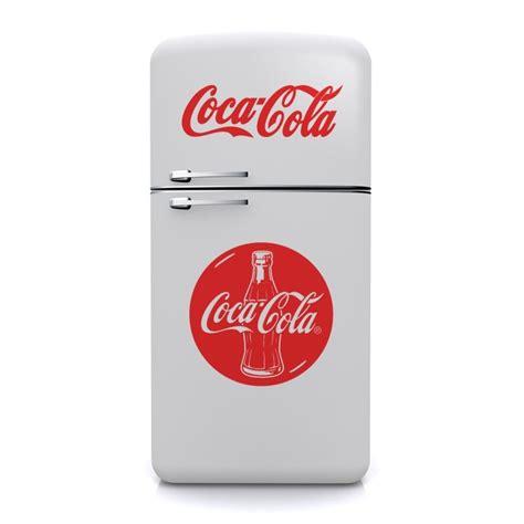 Aufkleber Coca Cola sticker bouteille coca cola d 233 coration cuisine vintage