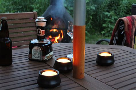 chiminea on wood deck chiminea cabinorganic