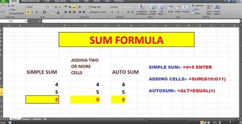 Formula For Credit Creation basic excel formulas related keywords basic excel