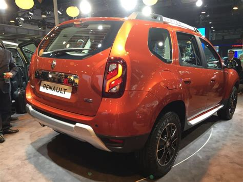 renault dacia 2016 renault duster facelift india price specifications amt