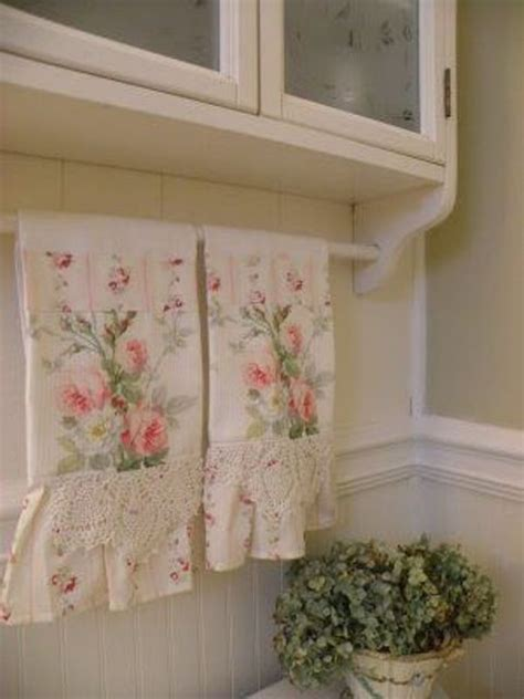 shabby chic towels 32 sweet shabby chic kitchen decor ideas to try shelterness