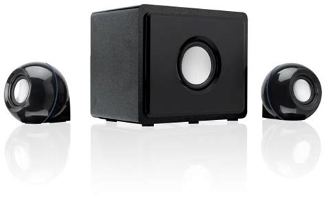gpx ht12b 2 1 channel home theater speaker system black 3