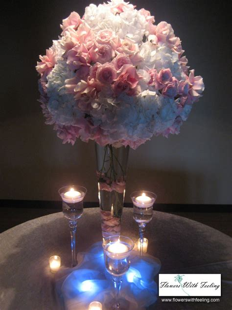 Lighting Arrangement by Weddings Flowers With Feeling Chicago