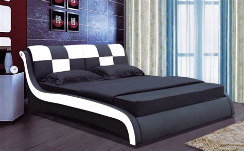 designer bed luxury designer bed king size 102 black red