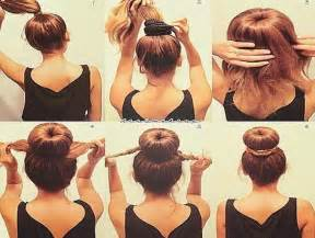 easy updos for hair step by step easy updos for medium length hair step by step hair