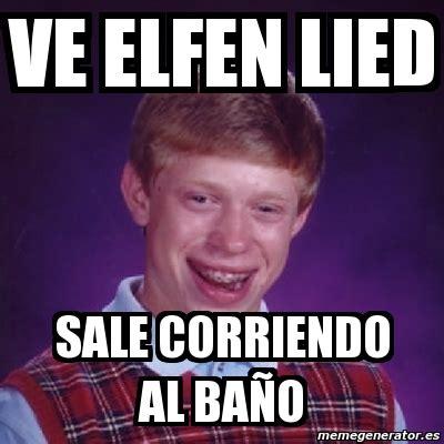 I Lied Meme Generator - meme bad luck brian ve elfen lied sale corriendo al ba 241 o