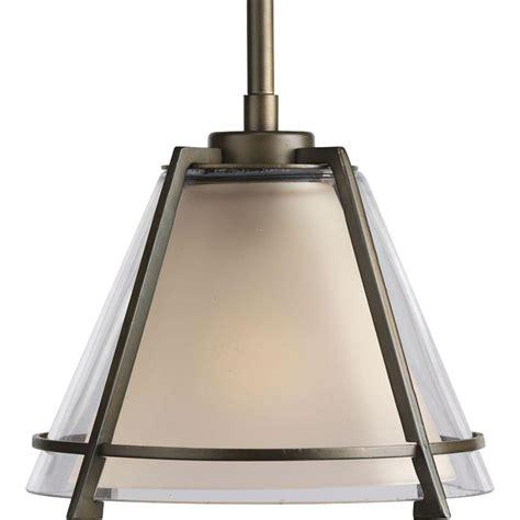 rubbed bronze kitchen pendant lighting progress lighting 1 light rubbed bronze mini pendant