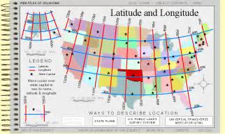 Usa Latitude Map by Atlas World Map With Latitude And Longitude Images