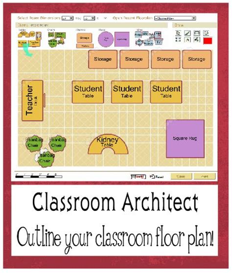 41 Best Preschool Blueprints Images On Pinterest Daycare Classroom Floor Plan Template