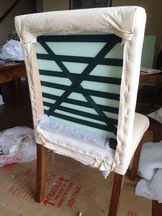 diy reupholster dining chair back how to reupholster a without a removable cushion
