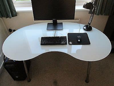 Kidney Shaped Glass Desk Ikea Kidney Shape Glass Desk Galant In Bath Somerset Gumtree