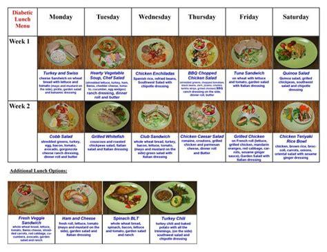 diabetic dinner menu san fernando valley diet meals and diet on