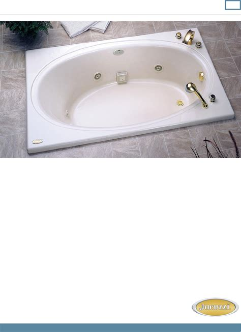 Backyard Tub Manual by Tub 6800 Lh User Guide Manualsonline