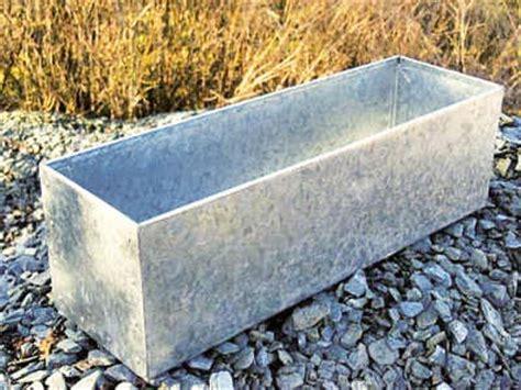 Galvanized Window Planter by Galvanized Metal Window Box Garden Ideas