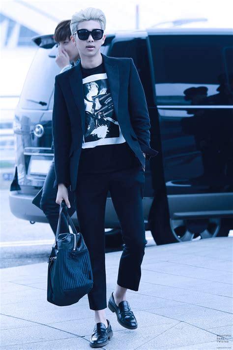 bts airport fashion bts rap monster fashion style buscar con google