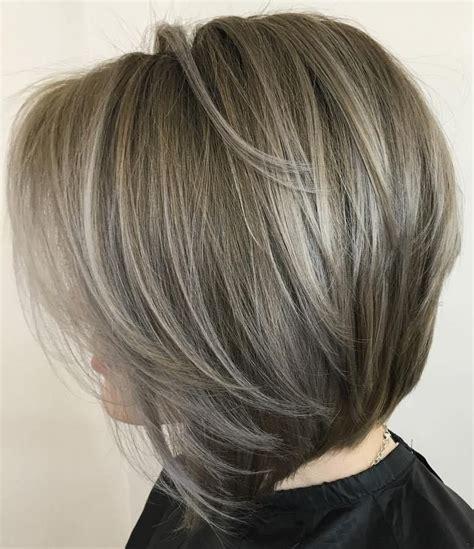gray hair layered bob 50 beautiful and convenient medium bob hairstyles ash