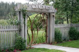 Bathroom Sconce Contemporary Garden Gate Landscape Midcentury With Modern