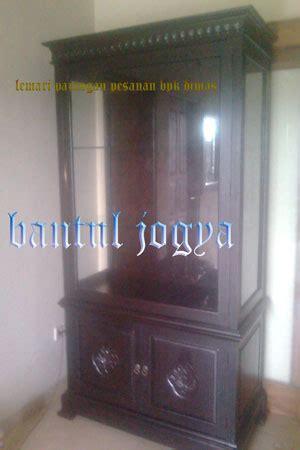 60 X 120 X 5 Cm Pajangan Dinding Pigura Rotan Panel Kayu lemari pajangan tiara jati lemari hias jati jepara lemari