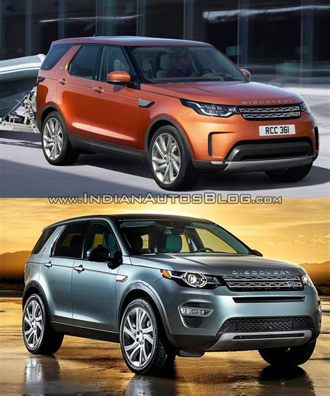 freelander land rover 2017 2017 land rover discovery vs discovery sport in images
