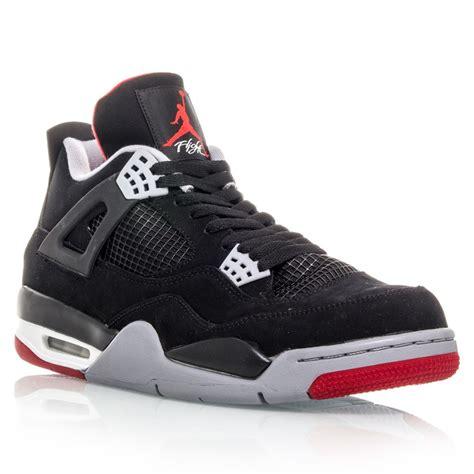 retro iv mens basketball shoes air 4 retro mens basketball shoes black cement