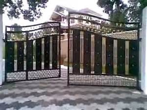 gate design for home new models photos 180 underground gate opareter kerala