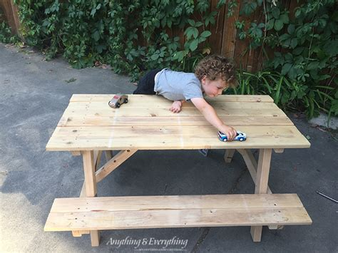 home depot child picnic kids activity picnic table anything everythinganything