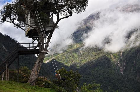 swing ecuador quot swing at the end of the world quot ecuador amazing places