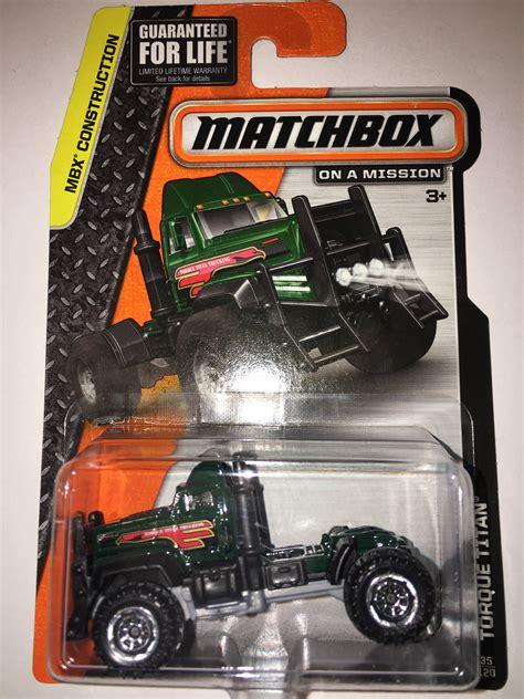 Torque Titan Mbx Construction Matchbox torque titan model trucks hobbydb