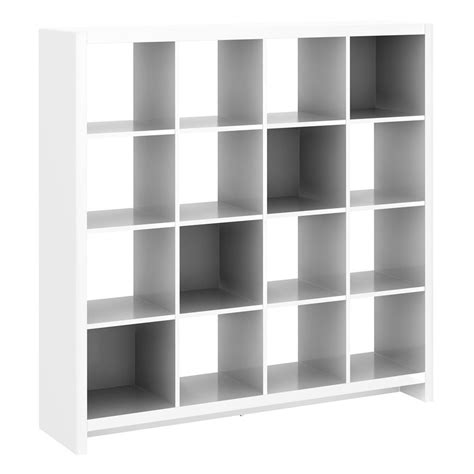 Cube Room Divider Bush Furniture Ki10 Kathy Ireland Office New York Skyline Sixteen Cube Bookcase Room Divider