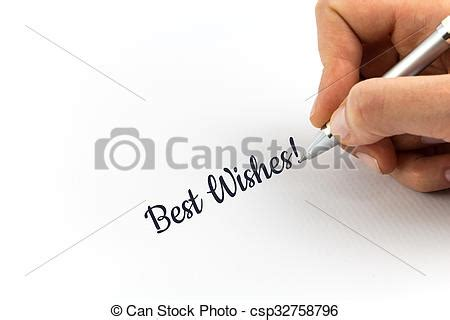 writing wishes on paper writing quot best wishes quot on white picture instant
